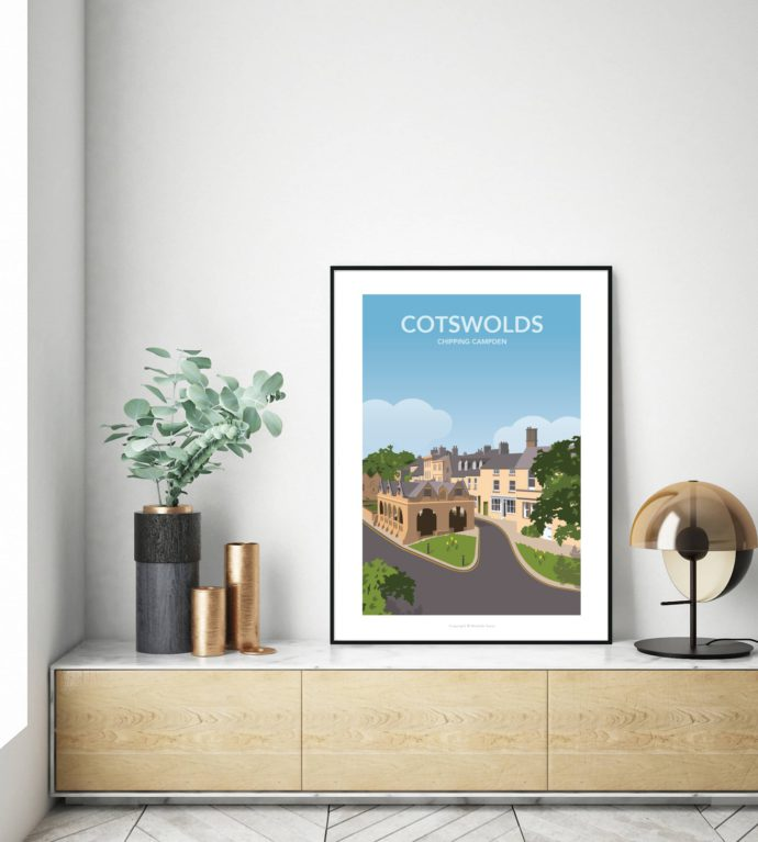 Travel poster of Chipping Campden